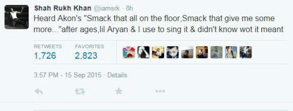 srk smack