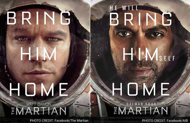 Aibs Salman Khan Starrer The Martian Is The Best Thing Youll See