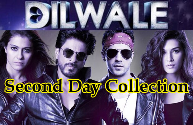 Box-Office-Second-Day-Dilwa