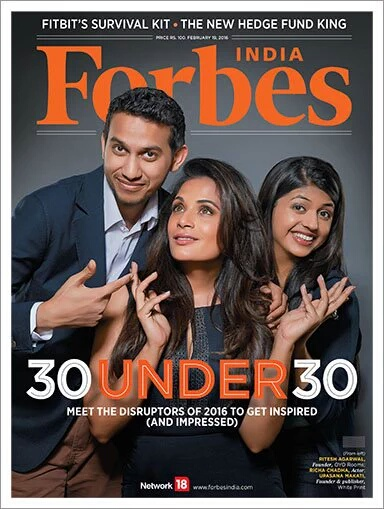 Forbes 30Under30 Cover
