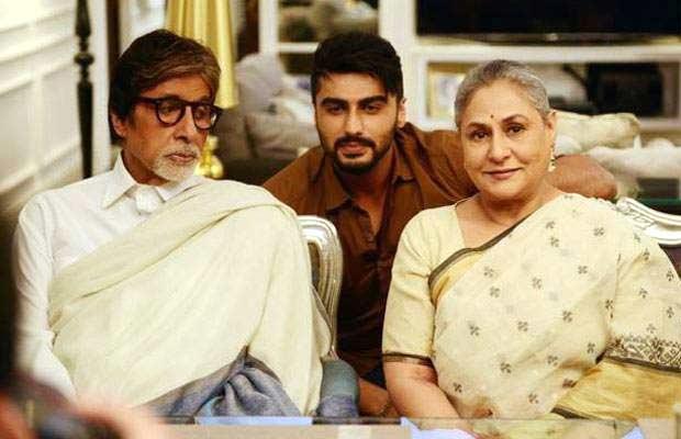 Arjun-Amitabh-&-Jaya-Bachchan