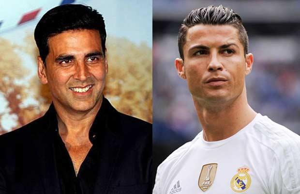 Akshay-Kumar-&-Cristino-Ronaldo