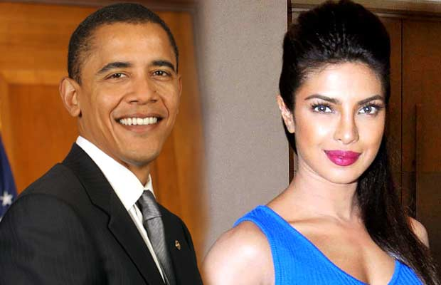 Priyanaka-Chopra-&-Barack-Obama
