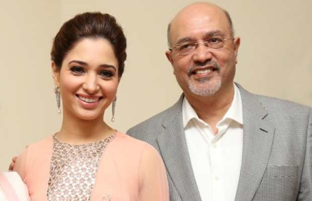 Tamannaah-Bhatia-with-father