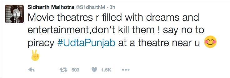 Siddharth-tweet-udtapunjab