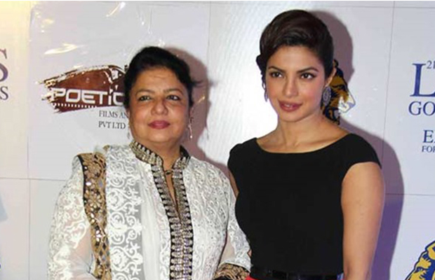 Priyanka chopra with mom