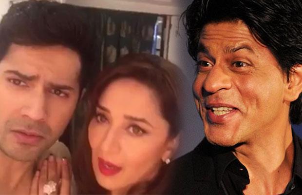 Varun_dhawan-Madhuri-dixit-nene-Shahrukh-Khan-Dubsmash-2