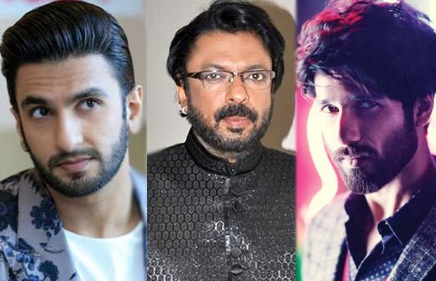 Ranveer Singh, Sanjay Leela Bhansali, Shahid Kapoor