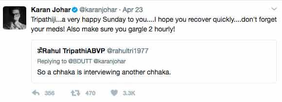 Karan Johar Troll