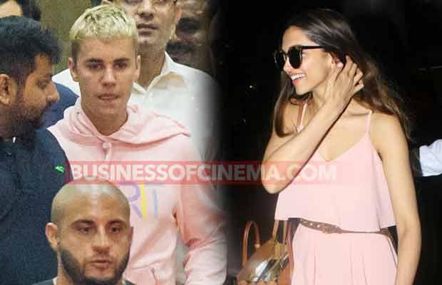 Deepika Padukone Justin Bieber