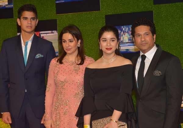 Sachin-Tendulkar-Family