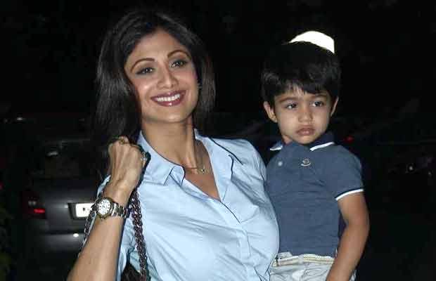 Shilpa Shetty Kundra Son