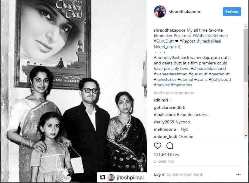 Shraddha Kapoor Instagram