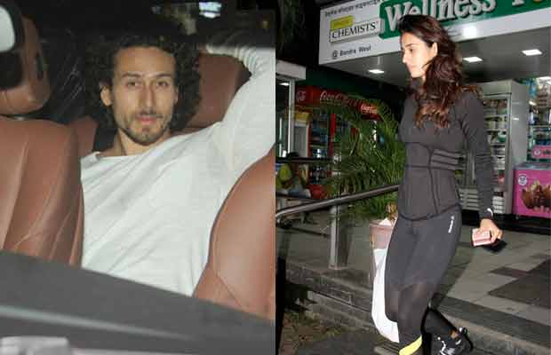 Spotted: Alleged Couple Tiger Shroff And Disha Patani At A Medical Shop!