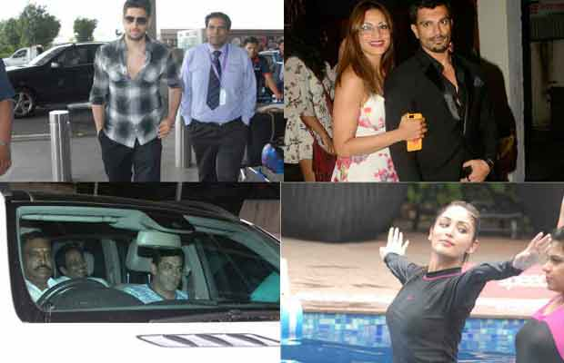 PHOTOS: From Salman Khan To Sidharth Malhotra, Here Are The Top Clicks Of Yesterday