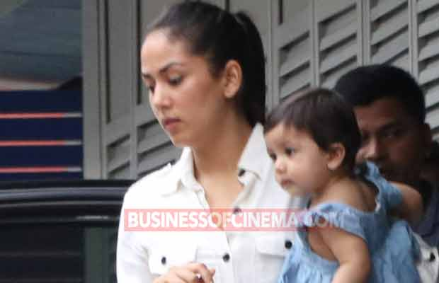 PHOTOS: Shahid Kapoor And Mira Rajput's Daughter Misha Is On A Day Out With Her Mom