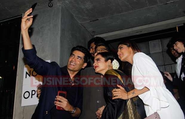 Shilpa-Shetty,-Manish-Malhotra,-and-Rekha-