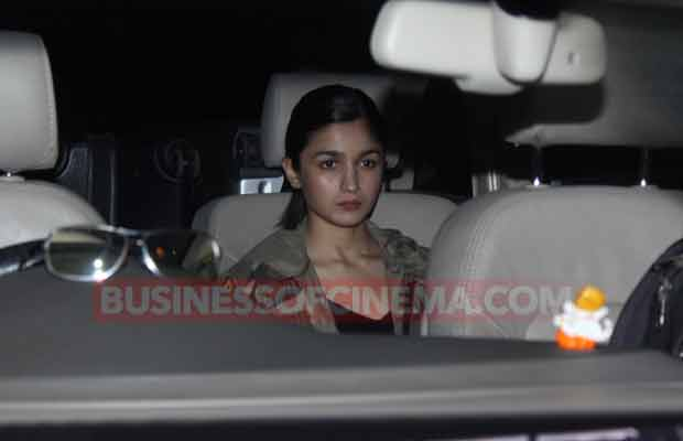 PHOTOS: Lovebirds Alia Bhatt And Sidharth Malhotra Meet Before The Actress Leaves For IIFA 2017