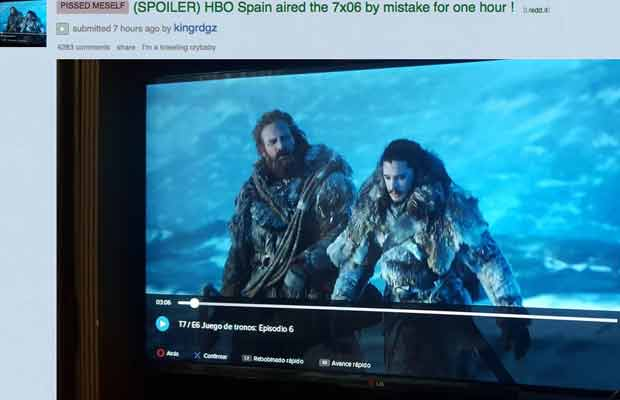 Game of Thrones LEAKED Once Again! HBO Spain To Be Blamed