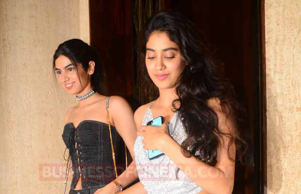Photos: Sridevi's Daughter Jhanvi Kapoor Slays In A Hot Backless Top, Steals Limelight From Aishwarya Rai!