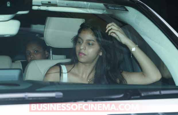 SPOTTED: Suhana Khan Enjoys Movie Night With Ahaan Panday