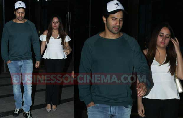 Photos: Varun Dhawan Spotted On A Dinner Date With Girlfriend Natasha Dalal!