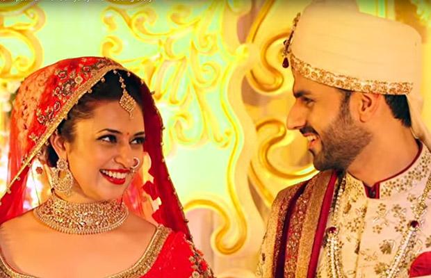Image result for divyanka tripathi and vivek dahiya wedding