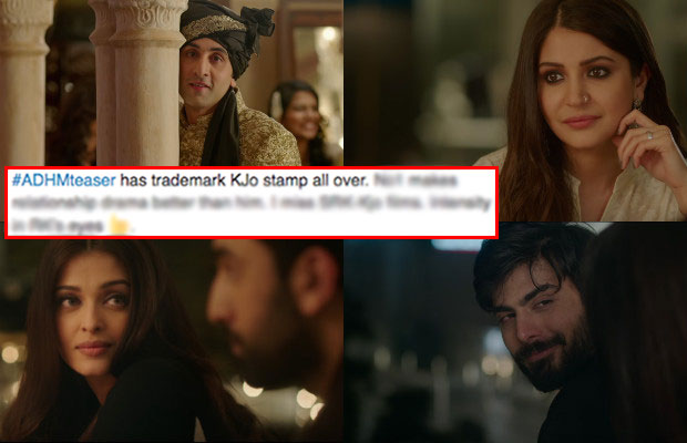 ADHM Teaser Out: Here's What Twitter Has To Say About Karan Johar's ...