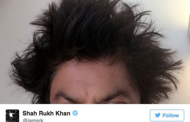 Look Who Gave Shah Rukh Khan A Funky Hairstyle In Lisbon