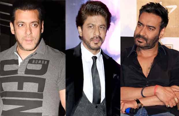 Salman Khan Shah Rukh Khan Ajay Devgn