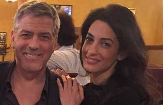 George Clooney Amal Clooney-