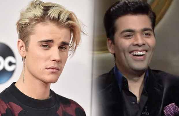 Justin Bieber Karan Johar Koffee With Karan