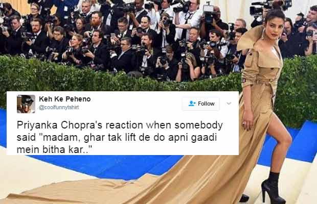 Priyanka Chopra Tweets MET Gala