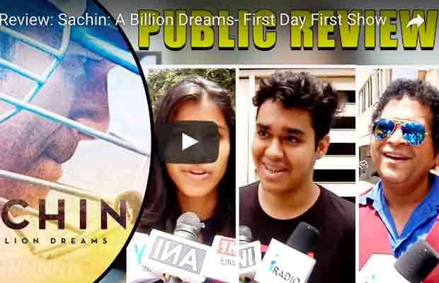 Watch Public Review: Sachin: A Billion Dreams First Day First Show