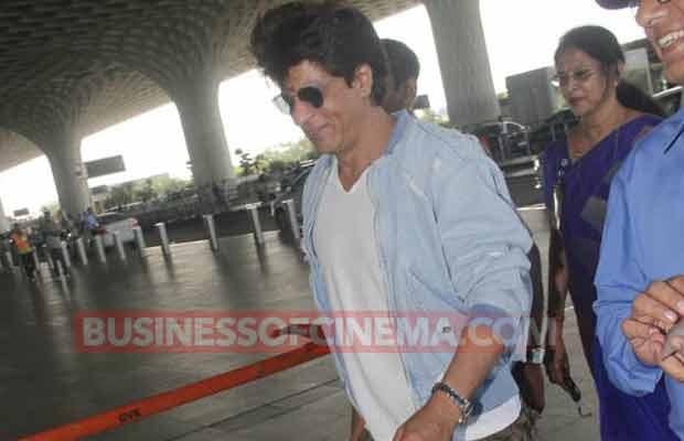 Shah Rukh Khan IPL Airport