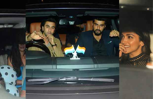 Photos: Ranbir Kapoor, Katrina Kaif, Deepika Padukone And Others At Karan Johar's Lavish Birthday Bash!