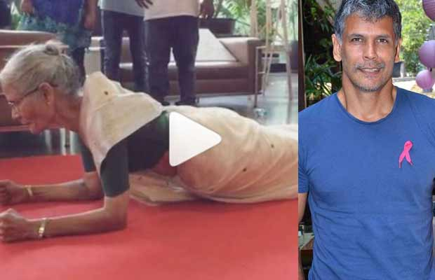 Watch: Milind Soman's 78 Year Old Mother Pulls Off A Plank For 80 Seconds