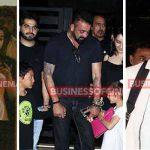 Spotted: Bollywood Stars Alia Bhatt, Sidharth Malhotra, Varun Dhawan, Sanjay Dutt