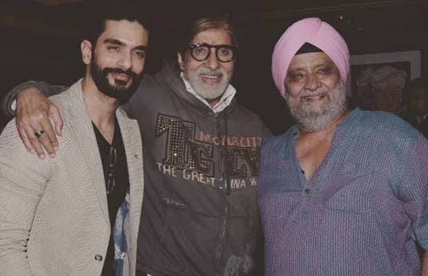 Angad Bedi Gets Special Advice From Big B!