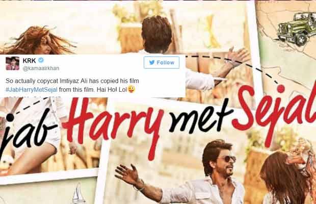 Jab Harry Met Sejal Shah Rukh Khan