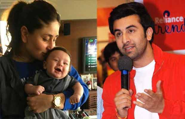 Kareena Kapoor Khan Ranbir Kapoor Taimur Ali Khan