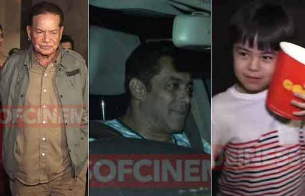 Photos: Salman Khan's Tubelight Child Actor Matin Rey Tangu And Salim Khan At Special Screening!