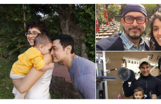 Father's Day Special: Aamir Khan Posts This Adorable Pic With Ira, Junaid And Azad