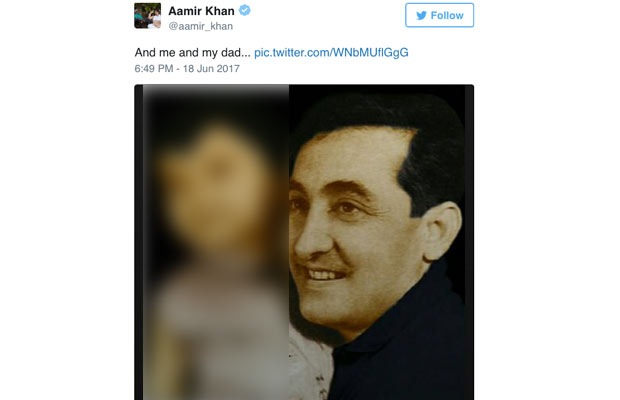 Aamir Khan Shares The Cutest Photo Of Him With His Father!