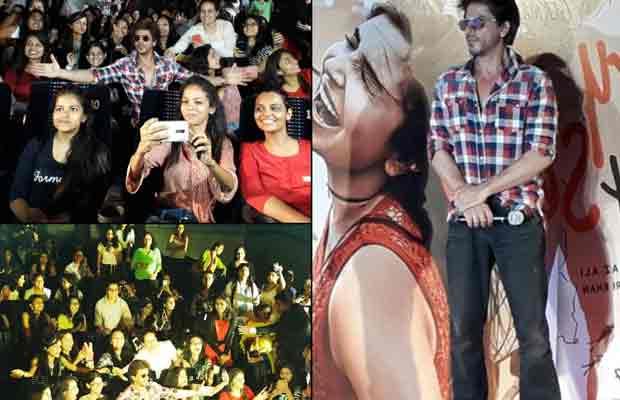 More Than 400 Sejals Throng To SRK's Mannat!