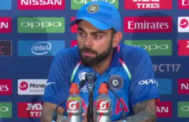 Watch: Pakistani Reporter's Hysterical Question Leaves Virat Kohli Confused