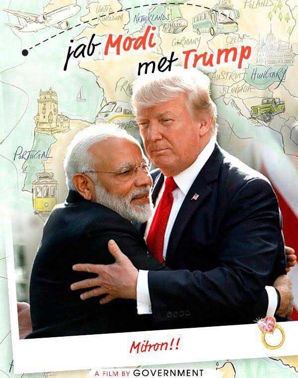 Jab Modi met Trump