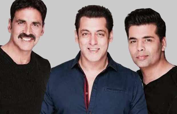 Karan Johar Akshay Kumar Salman Khan
