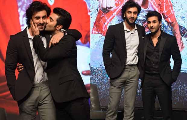 Ranbir Kapoor and Aadar Jain