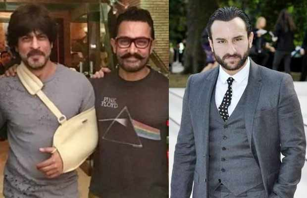 Saif Ali Khan Aamir Khan Shah Rukh Khan